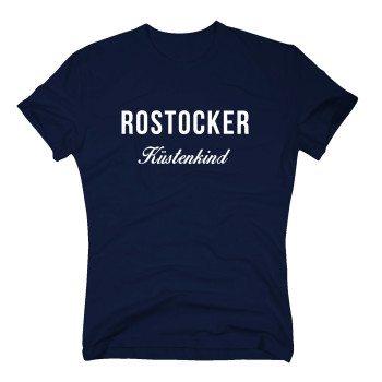 Rostocker Küstenkind - Herren T-Shirt - dunkelblau