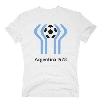 Argentina 1978 - Herren Fußball T-Shirt - weiß