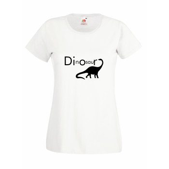 Dinosaur - Damen T-Shirt - weiß