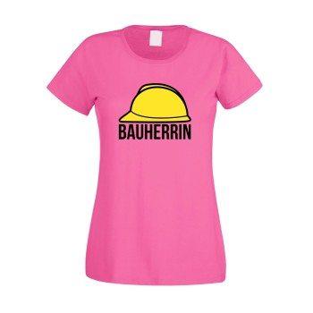 Bauherrin Damen T-Shirt - Helm