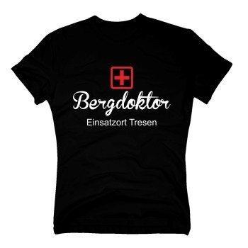 Apres Ski T-Shirt Herren Bergdoktor Einsatz Tresen
