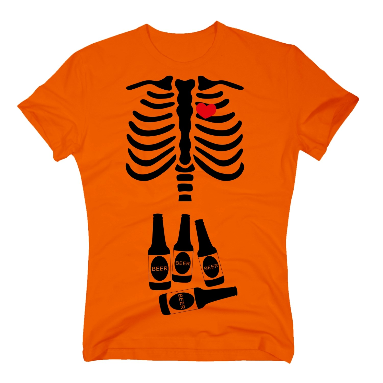 t shirt halloween papa skelett bier beer allhalloween party kost m s 3xl. Black Bedroom Furniture Sets. Home Design Ideas