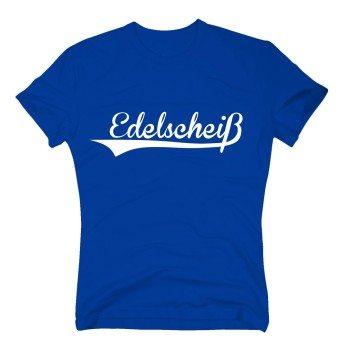 Edelscheiß - Herren T-Shirt - blau