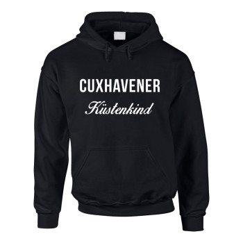 Cuxhavener Küstenkind - Herren Hoodie - schwarz