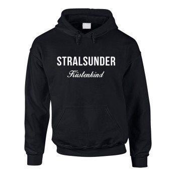 Stralsunder Küstenkind - Herren Hoodie - schwarz