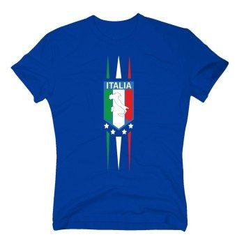 Italia - Herren T-Shirt - blau