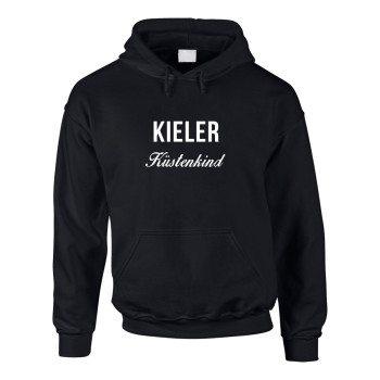 Kieler Küstenkind - Herren Hoodie - schwarz