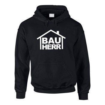Bauherr - Herren Hoodie - schwarz