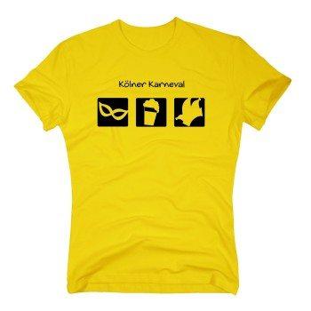 Kölner Karneval - Herren T-Shirt - gelb