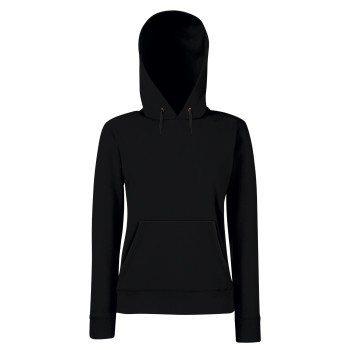 Damen Hoodie - Kapuzenpullover - Sweater - Kapuzenpulli - Pullover - schwarz black -Kaputzenpullover