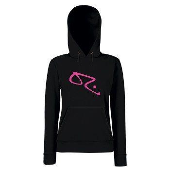 OZ - Damen Hoodie - schwarz-pink