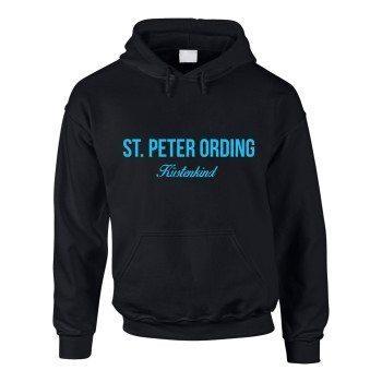 St. Peter Ording Küstenkind - Herren Hoodie - schwarz-blau