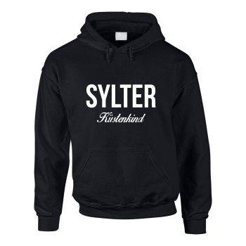 Sylter Küstenkind - Herren Hoodie - schwarz-weiß