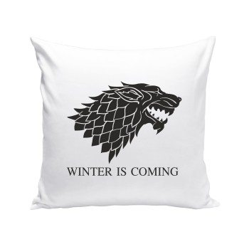 Game of Thrones Kissen - Schattenwolf - Winter is coming