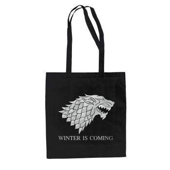 Game of Thrones Tasche - Baumwolltasche Jutebeutel Schattenwolf