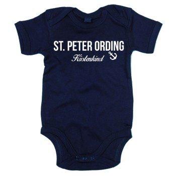 St. Peter Ording Küstenkind - Baby Body - dunkelblau