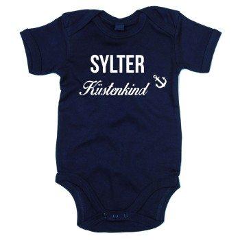 Sylter Küstenkind - Baby Body - dunkelblau