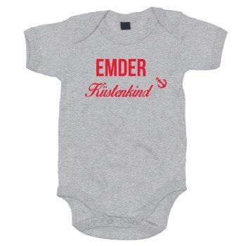 Emder Küstenkind - Baby Body - grau