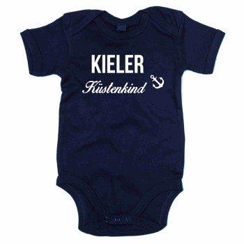Kieler Küstenkind - Baby Body - dunkelblau