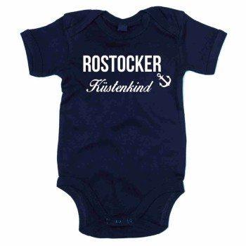 Rostocker Küstenkind - Baby Body - dunkelblau