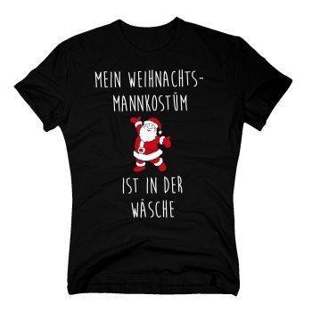 Mein Weihnachtsmankostüm ist in der Wäsche - Herren T-Shirt - schwarz