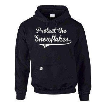 Protect the Snowflakes - Herren Hoodie - schwarz-weiß