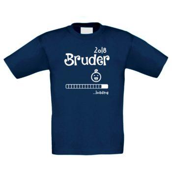 Kinder T-Shirt - Bruder 2018 ...Loading