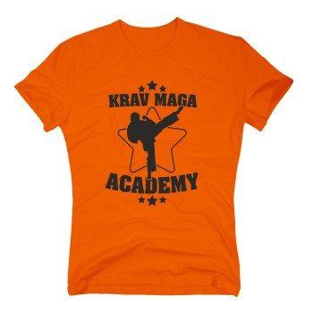 Krav Maga Academy - Herren T-Shirt - orange