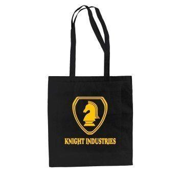 Knight Industries - Jutebeutel - schwarz-gelb