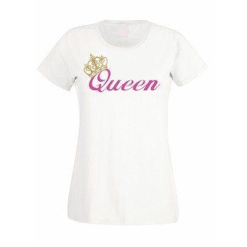 Queen - Damen T-Shirt - weiß
