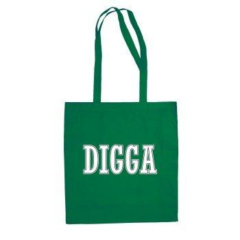 Digga - Jutebeutel - grün