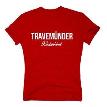 Travemünder Küstenkind - Herren T-Shirt - rot