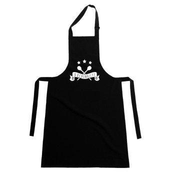 Küchenhilfe - Küchenschürze - schwarz