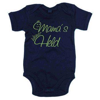 Mamas kleiner Held - Baby Body - dunkelblau