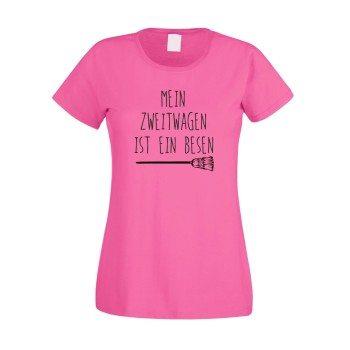 T-Shirt-damen-rundhals-mein-zweitwagen-ist-ein-besen