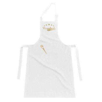 Sternekoch - Kochschürze - weiß