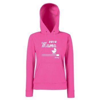 Mama 2016 loading - Damen Hoodie - pink