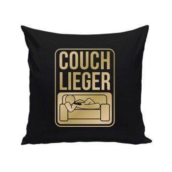 Couch Lieger - Dekokissen - schwarz