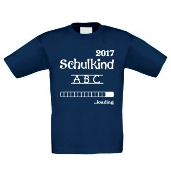 Kinder T-Shirt - Schulkind Loading 2017