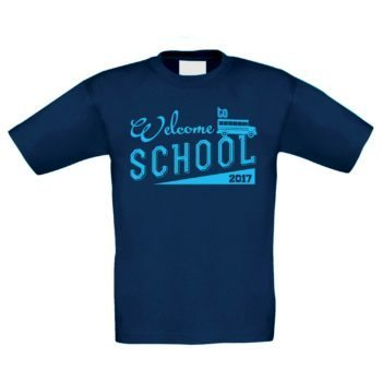 Kinder T-Shirt - Welcome to school 2017