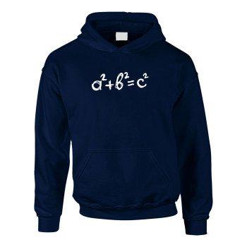 a²+b²=c² - Kinder Hoodie - dunkelblau