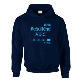 Zur Einschulung - Kinder Hoodie - Schulkind Loading 2016