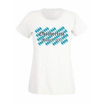 Oktoberfest Munich 2015 - Damen T-Shirt - weiß