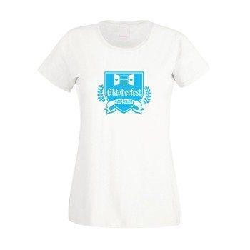 Oktoberfest Saufgruppe - Damen T-Shirt - weiß