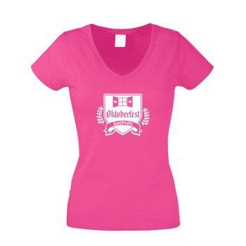 Oktoberfest Saufgruppe - Damen T-Shirt - pink