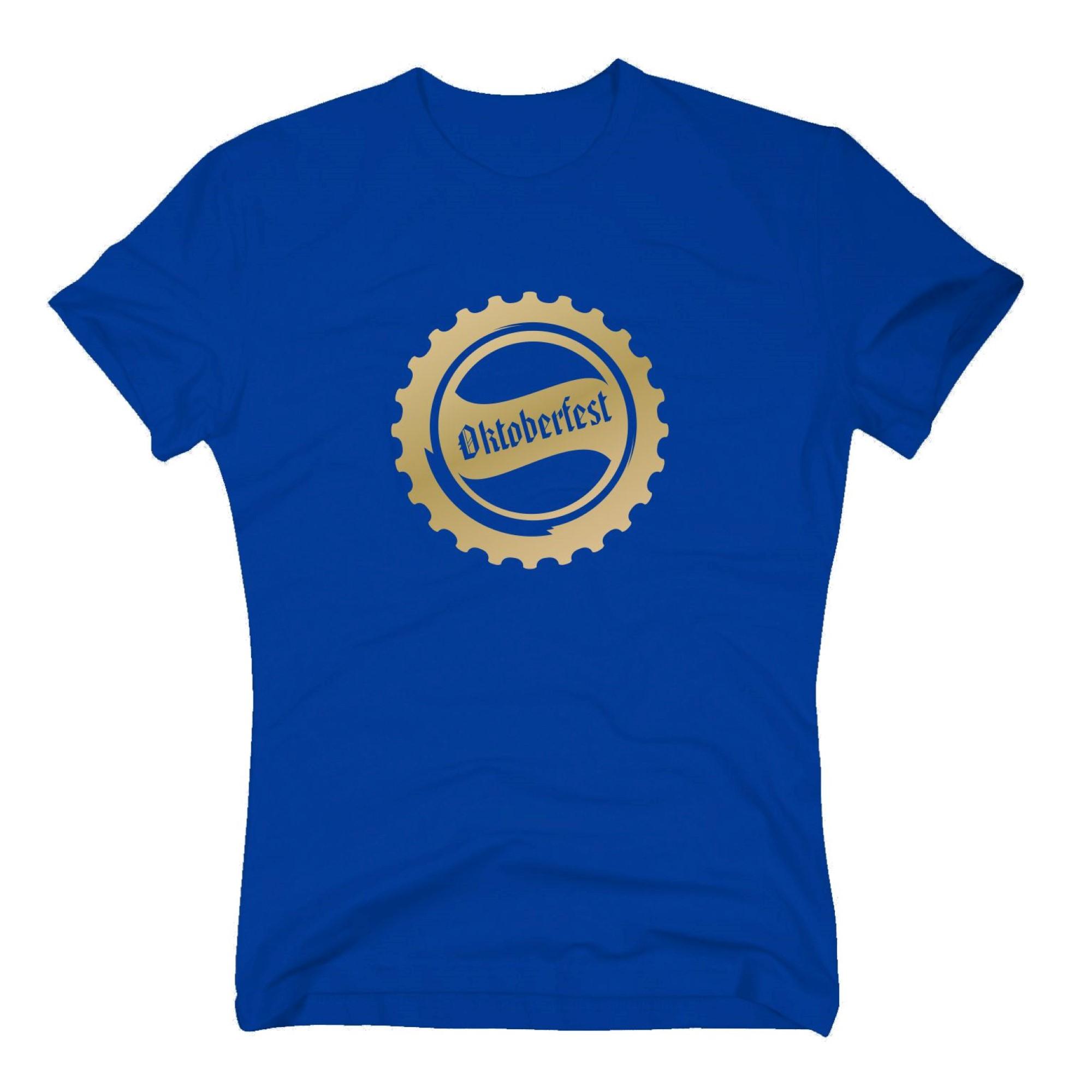 herren t-shirt - oktoberfest bierdeckel