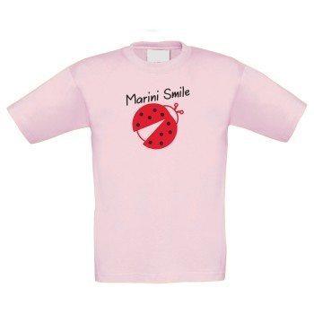 Marini Smile - Kinder T-Shirt - rosa