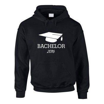 Herren Hoodie Abschluss Pullover Bachelor 2016 -Bachelorprüfung Abschluss Studium Student
