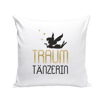 Traumtänzerin - Kissen - weiß
