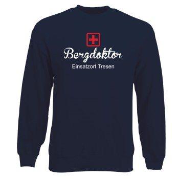 Apres Ski Outfit - Sweatshirt Herren - Bergdoktor Einsatz Tresen